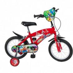 Bicicleta 14 inch Mickey Mouse Club House Toimsa - Bicicleta copii