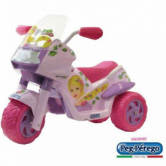 Motocicleta copii Raider Princess Peg Perego - Masinuta electrica copii Peg Perego, Roz