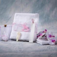 Trusou botez Collection Pink Horsy Nikos