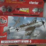 bnk jc Avion - macheta - Messerschmitt Bf109E-3 - Airfix - 1/72