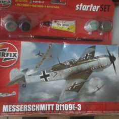 Bnk jc Avion - macheta - Messerschmitt Bf109E-3 - Airfix - 1/72 - Macheta Aeromodel
