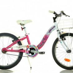 Bicicleta seria Winx 20 inch Dino Bikes - Bicicleta copii