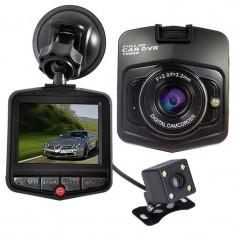 Camera auto Dubla iUni Dash 806, Full HD, 12Mpx, 2.5 Inch, 170 grade, Parking monitor, G senzor, Senzor de miscare - Camera video auto