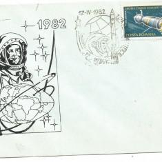 (No2) plic omagial- ()-ZIUA COSMONAUTICII 12 aprilie 1982, An: 1995