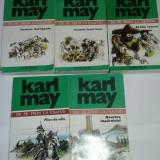 KARL MAY - OPERE Vol.1.2.3.4.5. ~ DE LA TRON LA ESAFOD ~ - Carte de aventura