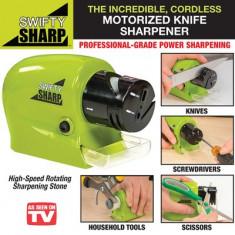 Aparat dispozitiv electric ascutit cutite foarfece Swifty Sharp - Masina de ascutit