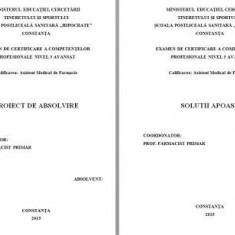 LUCRARE DE LICENTA AMF – SOLUTII APOASE - Carte Farmacologie