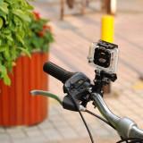 Suport ghidon + PIVOT pentru GoPro Hero 4 3+ 3 2(bike mount bicicleta
