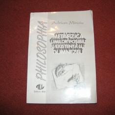 Adrian Miroiu - Metafizica lumilor posibile si existenta lui Dumnezeu - Carte Filosofie