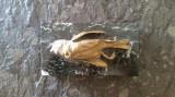 Pasare bronz pe socul de marmura