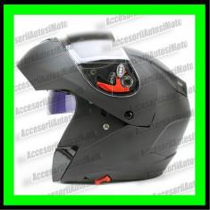 CASCA MOTO Flip-Up cu Ochelari DINLI, Marime: M, L, XL