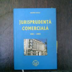 Jurisprudenta comerciala 2001-2003 - Marin Voicu - Carte Jurisprudenta