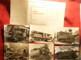 Set 9 Ilustrate Locomotive vechi Germania sec.XIX si inc.sec.XX,nr.25  -ed. 1973