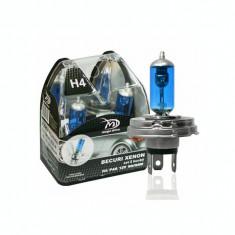 Set 2 Becuri H4 P43 12V 100/90W - MegaDrive (imitatie Xenon) IS-43211