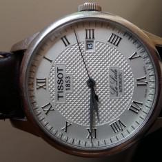 Tissot le locle.original - Ceas barbatesc Tissot, Elegant, Mecanic-Automatic, Piele, Data, Analog