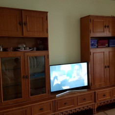 Mobila sufragerie lemn masiv 5 corpuri - Set mobila living
