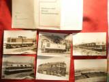 Set 9 Ilustrate Locomotive electrice Germania interbelice,nr.57  -ed. 1974