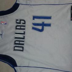 Maieu Adidas, baschet, NBA, Dallas, nr.41 Nowitzki, 4XL - Echipament baschet