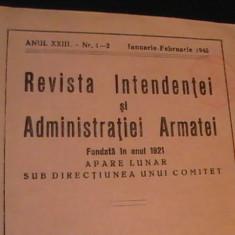 REVISTA INTENDENTEI SI ADMIN. ARMATEI-FONDATA/1921-NR. INCHINAT TRANSNISTRIEI- - Revista barbati