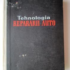 Carte tehnica Auto, 1962: Tehnologia repararii Auto, D. Gheorghe - A. Groza ... - Carti auto