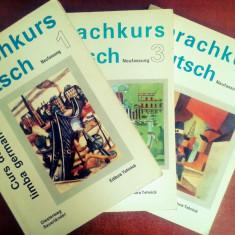 Sprachkurs Deutsch - Curs de limba germana (3 Vol) - Goethe Institut - Curs Limba Germana Altele
