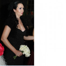 Vand rochie Atmosphere de seara - Rochie ocazie, Marime: 40, Culoare: Negru