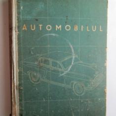Carte tehnica Auto, 1957: Automobilul- Curs descriptiv, Jigarev, Jilin, Zimelev - Carti auto