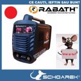 Aparat de sudura Invertor de noua generatie | RABATH - IGBT - MMA 200A |