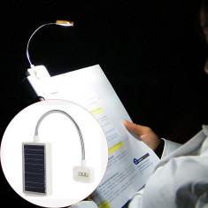 Lampa LED portabila pentru citit, incarcare solara, lumina ajustabila, Lixada - Corp de iluminat