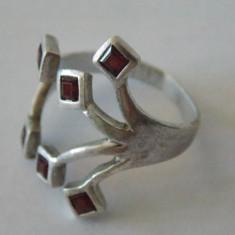 Inel argint cu chihlimbar -2133