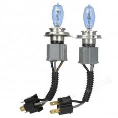 Set 2 Becuri H4 P43 HOD 100W - Hid Xenon Power (imitatie Xenon) AL-TCT-2261