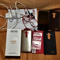 Telefon LG G4 Dual-sim H818 LTE Leather Black, 3GB Ram, 32GB, Negru, Neblocat