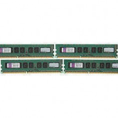 Memorie server Kingston 32GB (4 x 8GB) DDR3 SDRAM ECC Unbuffered 1600MHz