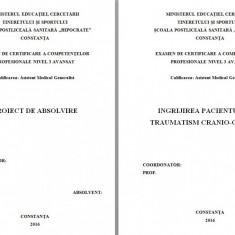 LUCRARE DE LICENTA AMG – INGRIJIREA PACIENTULUI CU TRAUMATISM CRANIO-CEREBRAL