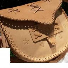 Geanta TOLBA piele naturala piele natur NOUA - Geanta Dama Roberto Cavalli, Culoare: Maro, Marime: Medie, Geanta de umar