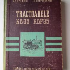Carte tehnica Tractor, 1957: Tractoarele KD-35 si KDP-35, Ozerski, Trepenenkov - Carti auto