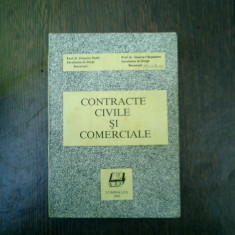 Contracte civile si comerciale - Francisc Deak, Stanciu Carpenaru - Carte Drept comercial
