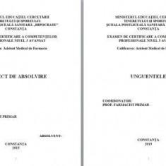 LUCRARE DE LICENTA AMF – UNGUENTELE - Carte Farmacologie