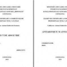 LUCRARE DE LICENTA AMF – ANTIARITMICE SI ANTIANGINOASE - Carte Farmacologie