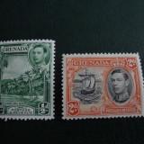 TIMBRE NESTAMPILATE MH GRENADA GEORGE VI ANGLIA/COLONII