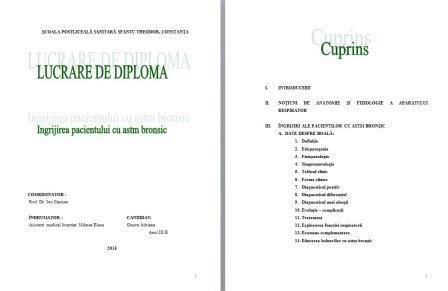 LUCRARE DE LICENTA AMG – INGRIJIREA PACIENTILOR CU ASTM BRONSIC (1)