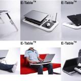 E table Masa Masuta Suport notebook laptop 2 coolere + mouse pad suport pahar