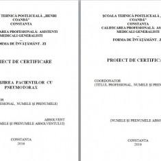 LUCRARE DE LICENTA AMG – INGRIJIREA PACIENTILOR CU PNEUMOTORAX (2)