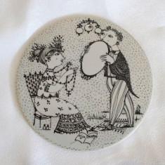 Placa ceramica / Tablou - portelan Bavaria - Rosenthal - Septembrie