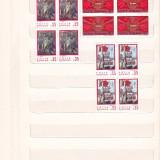 SEMICENTENARUL P.C.R. ( LP 764 ) 1971 BLOC DE 4, Nestampilat