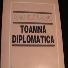 TOAMNA DIPLOMATICA-ION ILIESCU- - Carte Politica