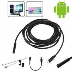 Microcamera Endoscopica pentru Android si Laptop, Video HD, IP67 * - Gadget supraveghere