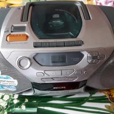 CD RADIO CASETOFON PHILIPS AZ 1040 .