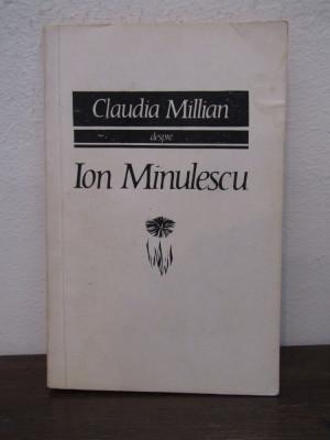 CLAUDIA MILLIAN DESPRE ION MINULESCU foto