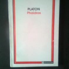 Platon - Phaidros (Editura Humanitas, 1993)